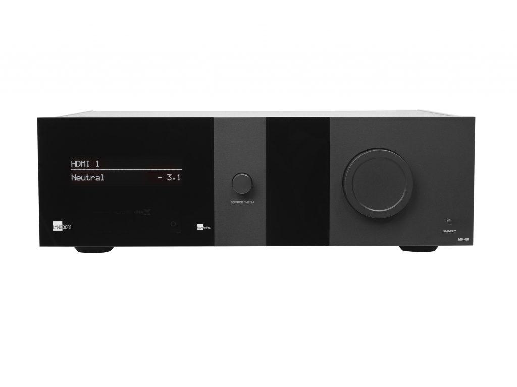 Lyngdorf MP-60 High End 16 Kanal Surround Prozessor, bei Audio Exclusive in der Vorführung. In Kombination mit JVC, Yamaha, Panamorph, L;umagen & Stewart.
