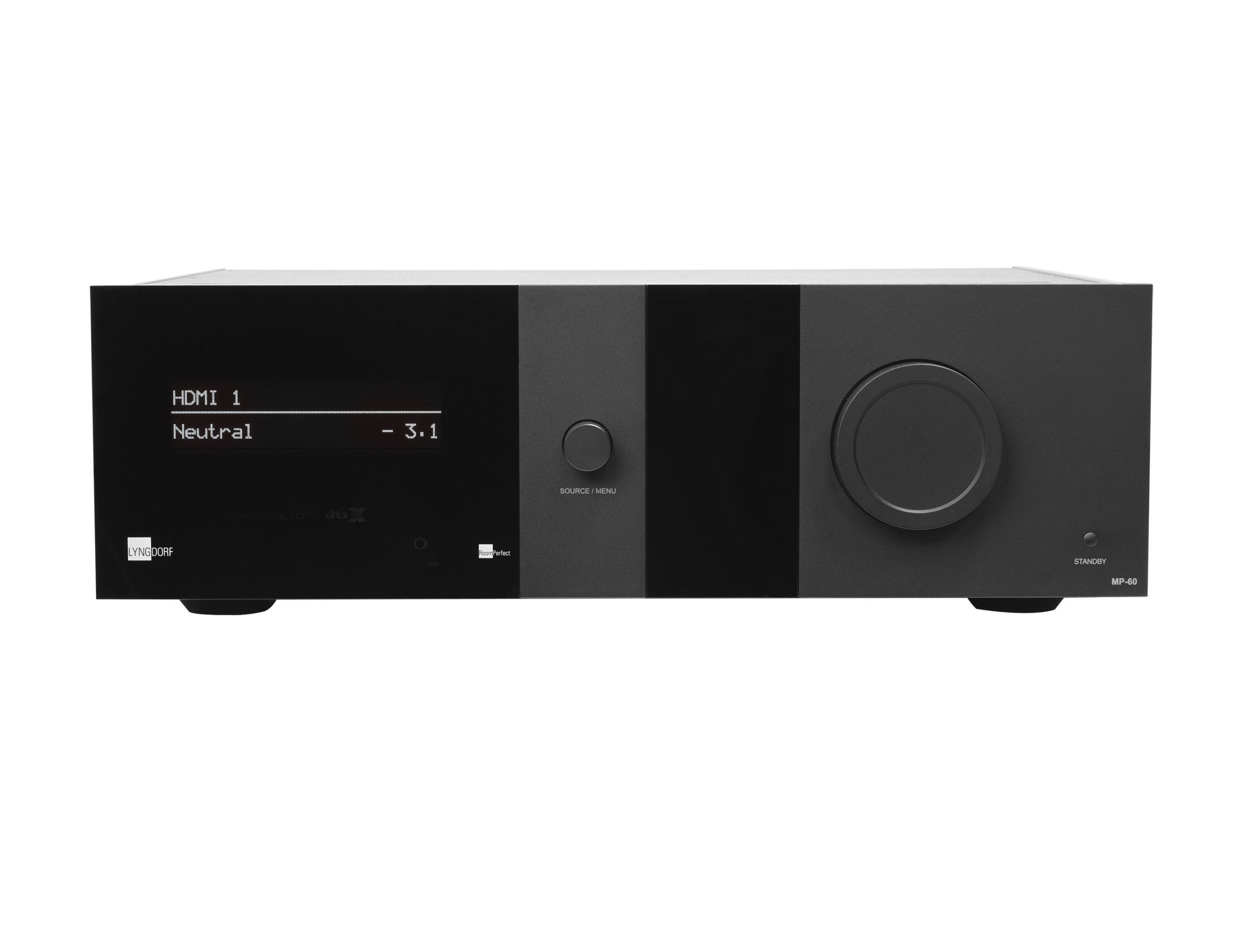 Lyngdorf MP-60 High End 16 Kanal Surround Prozessor, bei Audio Exclusive in der Vorführung. In Kombination mit JVC, Yamaha, Panamorph, L;umagen & Stewart.