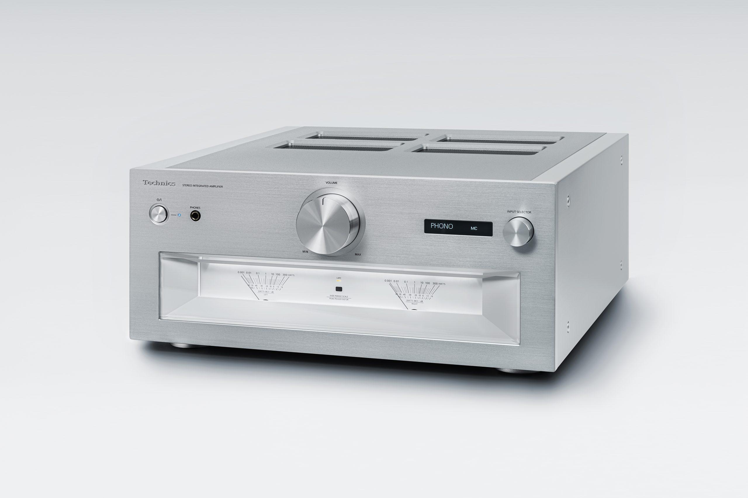 Mit dem SU-R1000 Integrated Amplifier stellt Technics den ersten Vollverstärker seiner Referenzklasse vor, der nicht nur voll digital umgesetzt wurde sondern auch einige Innovationen mit auf den Weg bekam.